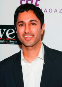 Maulik Pancholy at the LOVE benefit to support WET's 10th season.