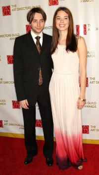 Vincent Kartheiser and Shanna Collins at the 13th Annual Art Directors Guild Awards.