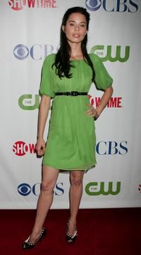 Shanna Collins at the CW/CBS/Showtime/CBS Television TCA party.
