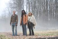 Cam Gigandet as James, Edi Gathegi as Laurent, and Rachelle Lefevre as Victoria in