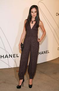 Allison Sarofim at the opening party of Mobile Art: CHANEL Contemporary Art Container.