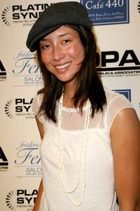 Mei Melancon at the Frederic Fekkai Pre-Emmy Style 2006 Garden Party.
