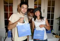 Jonathan Sadowski and Mei Melancon at the Frederic Fekkai Pre-Emmy Style 2006 Garden Party.