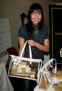 Mei Melancon at the Nikki Beach Gift Lounge during the 59th International Cannes Film Festival.