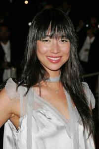 Mei Melancon at the premiere of