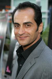Navid Negahban at the premiere of