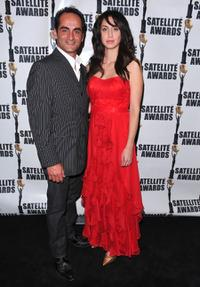 Navid Negahban and Mozhan Marno at the International Press Academy's 14th Annual Satellite Awards.