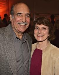 William Marquez and his wife Lenore at the after party of