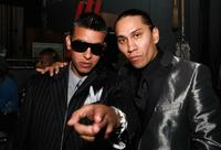 Daddy Yankee and Taboo at the 2008 ALMA Awards.