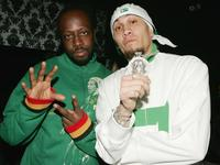 Wyclef Jean and Taboo at the after party of the premiere of