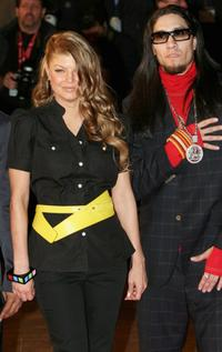 Fergie and Taboo at the NRJ Music Awards 2006.