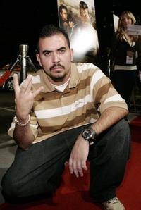 Noel Gugliemi at the premiere of