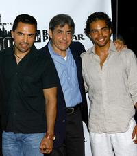 Manny Perez, Jaime Terilli and Ramon Rodriguez at the after party of the screening of