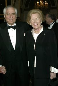 Garry Marshall and Barbara Marshall at the National Actors Theater Benefit