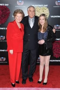 Barbara Marshall, director Garry Marshall and Charlotte Marshall at the Los Angeles premiere of