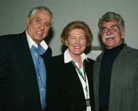 Garry Marshall, Barbara Marshall and Joel Siegel at the