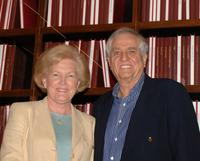 Barbara Marshall and Garry Marshall at the Grand Opening Ceremonies of Writers Guild Foundation Shavelson-Webb Library.