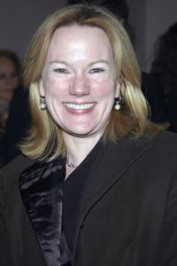 Kathleen Marshall at the Off-Broadway opening night performance of
