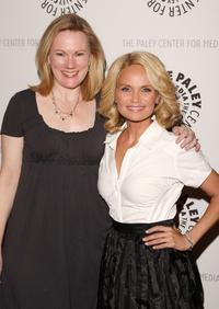 Kathleen Marshall and Kristin Chenoweth at the