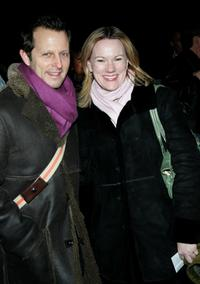 Kathleen Marshall and Rob Ashford at the opening night of