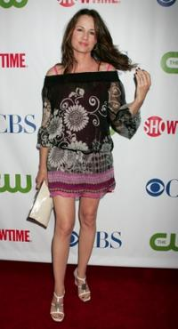 Paula Marshall at the CW/CBS/Showtime/CBS Television TCA party.