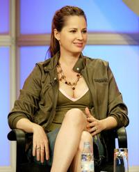 Paula Marshall at the panel discussion of