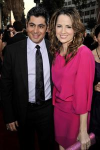 Danny Nucci and Paula Marshall at the 35th Annual People's Choice Awards.