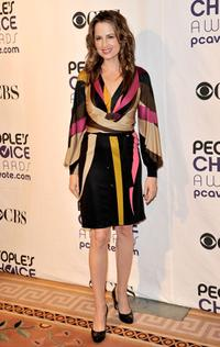 Paula Marshall at the 35th Annual People's Choice Awards nominations.