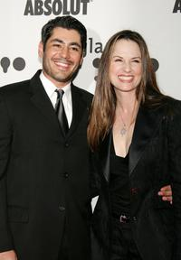 Danny Nucci and Paula Marshall at the 17th Annual GLAAD Media Awards.