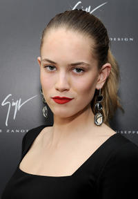 Cody Horn at the Giuseppe Zanotti Design Beverly Hills Store opening in California.