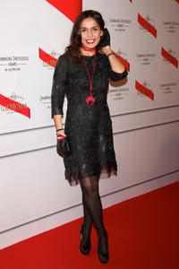Blanca Marsillach at the Maison Mumm Inauguration in Madrid.