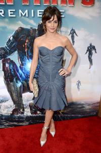 Stephanie Szostak at the California premiere of