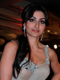 Soha Ali Khan at the Indian Princess 2011 contest event in Mumbai.