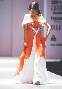 Soha Ali Khan at the Wills Lifestyle India Fashion Week (WIFW).