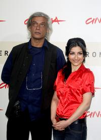 Director Sudhir Mishra and Soha Ali Khan at the photocall of