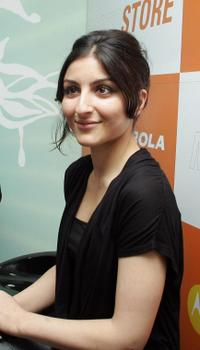 Soha Ali Khan at the opening of first flagship Motostore.