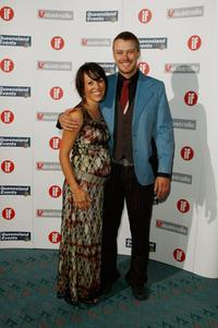 Michael Dorman and Aimy Chin at the Inside Film Awards (IF).