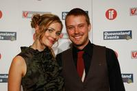 Maeve Dermody and Michael Dorman at the Inside Film (IF) Awards.