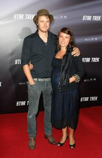 Michael Dorman and Aimy Chin at the world premiere of