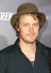 Michael Dorman at the world premiere of
