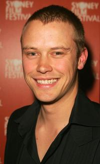 Michael Dorman at the premiere of