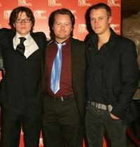 Khan Chittenden, Anthony Hayes and Michael Dorman at the premiere of