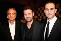 Homayoun Ershadi, Khaled Hosseini and Khalid Abdalla at the Closing Night Gala and premiere of