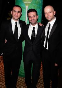 Khalid Abdalla, Khaled Hosseini and Marc Forster at the 11th Annual Hollywood Awards.