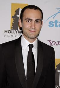 Khalid Abdalla at the 11th Annual Hollywood Awards.