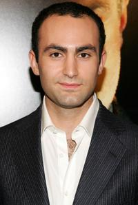 Khalid Abdalla at the premiere of
