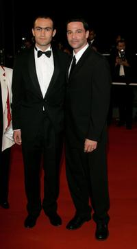 Khalid Abdalla and David Alan Basche at the premiere of