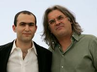Khalid Abdalla and Director Paul Greengrass at the photocall of