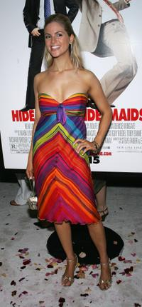 Jennifer Alden at the premiere of