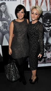 Lily Allen and Jaime Winstone at the celebration of Naomi Campbell's 25 year career with Dolce and Gabbana.